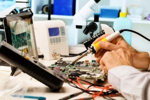 Reparatur einer Leiterplatte